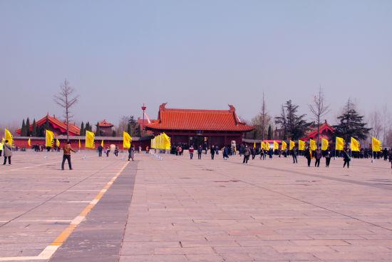 安徽涡阳县城北天静宫(老子庙)。刘浩 摄