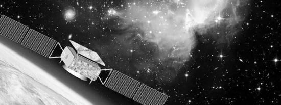 """暗物质粒子探测卫星""""悟空""""(资料图片)"""