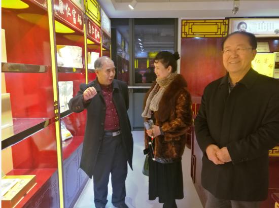 美国白宫保健医生唐泰德教授到访康仁富硒集团总部视察