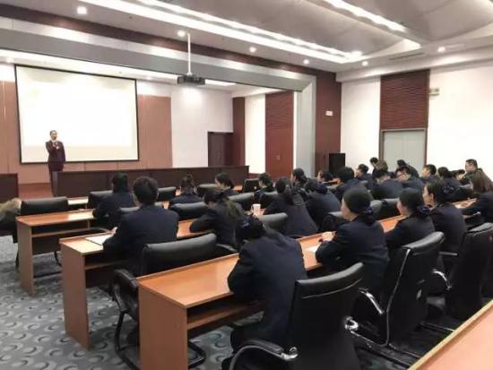 济南高新地税开展窗口工作人员减压心理辅导专