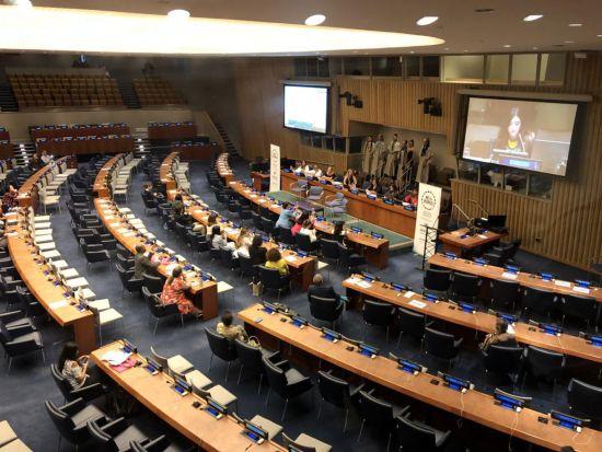 《金玉良言》在美国纽约联合国总部震撼首发