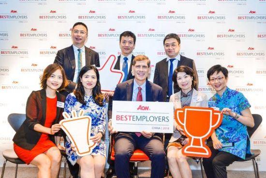 百特蝉联怡安中国最佳雇主并首次荣膺亚太