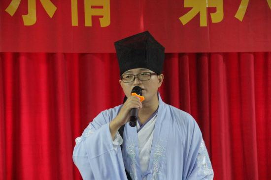 青年诗人左桂身着汉服演唱自编原创古风歌曲《相思南国》