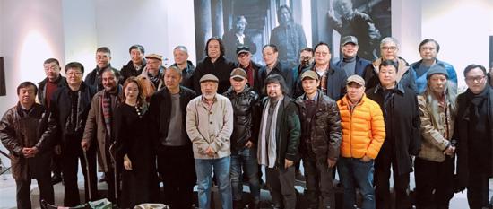 《生生:洪凌、杨键艺术联展》开幕式现场