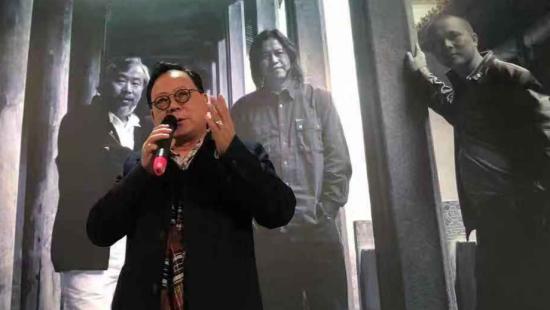 安徽省美术家协会主席杨国新致辞