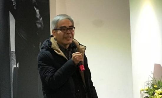 上海油画雕塑院国家一级美术师罗朗致辞