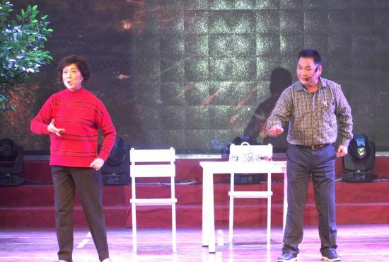 皖南花鼓戏剧目——《巡查组来了》首演现场