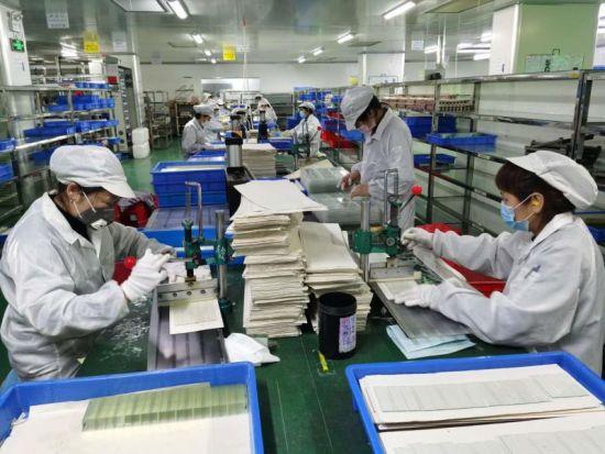 蚌埠高华电子生产线