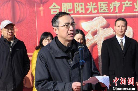 佳豪国际娱乐平台省委统战部副部长、省侨办主任张启明致辞 赵强 摄