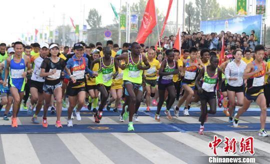 大别山国际马拉松半程赛:埃塞选手包揽男女组冠军