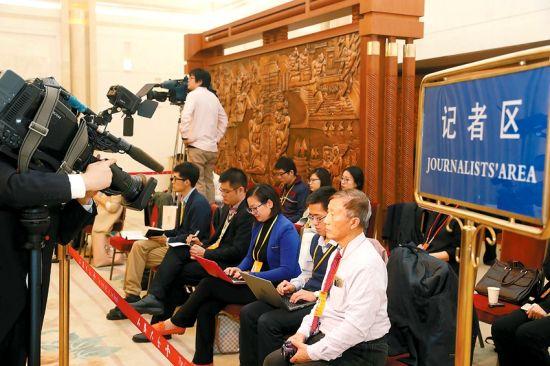 境内外媒体关注安徽代表团