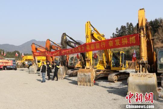 安徽芜黄高速公路启动建设 贯通皖南旅游大通道