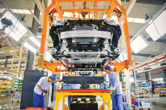 新能源汽车走俏市场