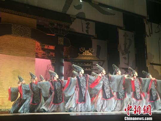 舞剧《李白》合肥上演 讲述李白的家国情怀