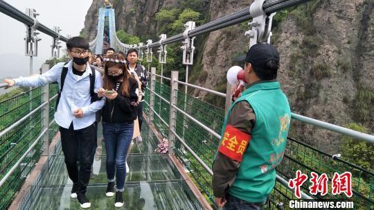 安徽马仁奇峰小长假体验式旅游人气火爆
