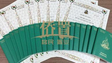 【中国新闻网】10月侨置移民瓦努阿图护照获批现场!