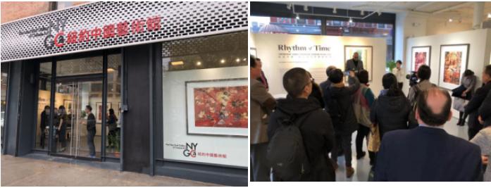 中国版画展在美国纽约受到广泛关注