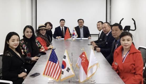 第56届联合国大会主席韩升洙亲切接见刘瀚锴